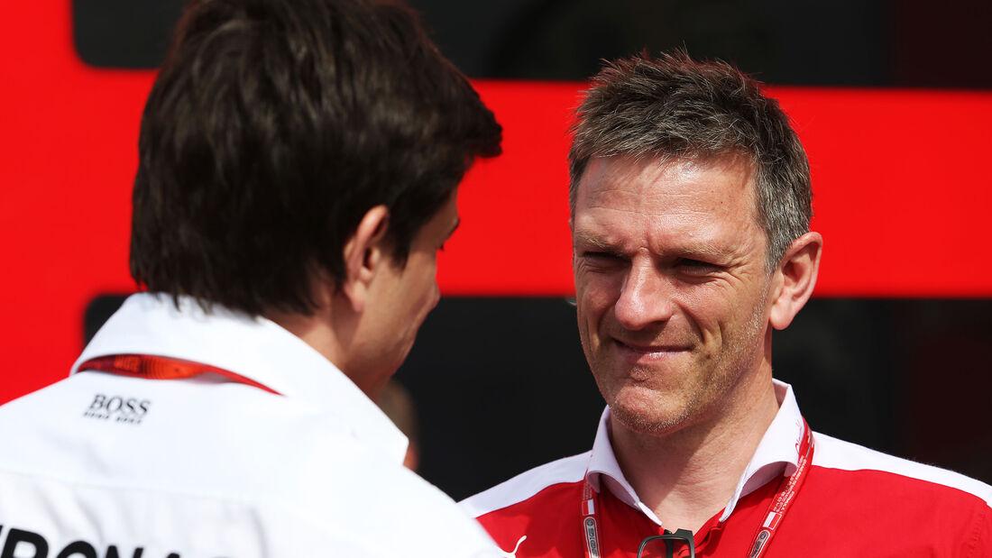 Toto Wolff & James Allison - Formel 1 - 2016