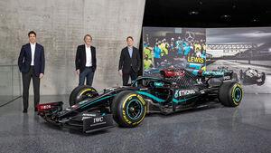 Toto Wolff - Jim Ratcliffe - Ola Källenius - Mercedes - F1 - Formel 1