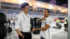 Toto Wolff & Lewis Hamilton - F1 2019