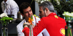 Toto Wolff - Maurizio Arrivabene - Formel 1