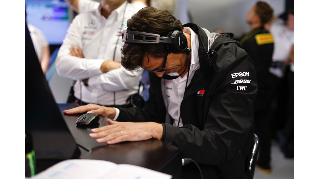 Toto Wolff - Mercedes - Formel 1 - GP Italien - 01. September 2018