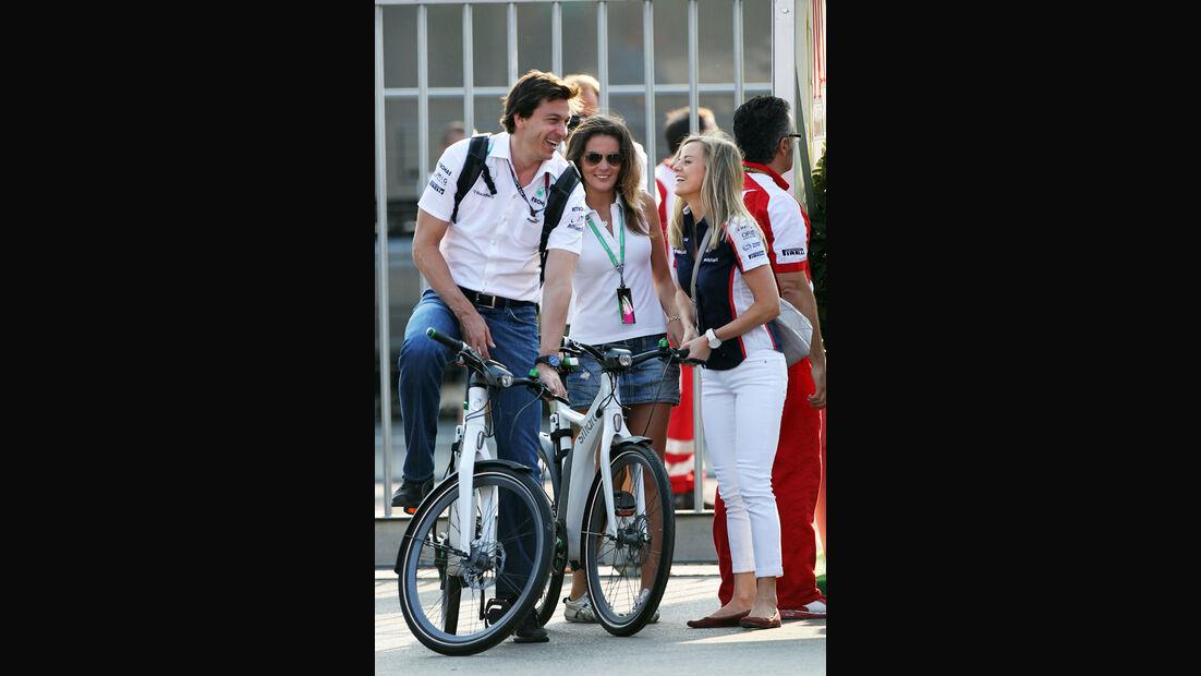 Toto Wolff - Mercedes - Formel 1 - GP Italien - 7. September 2013