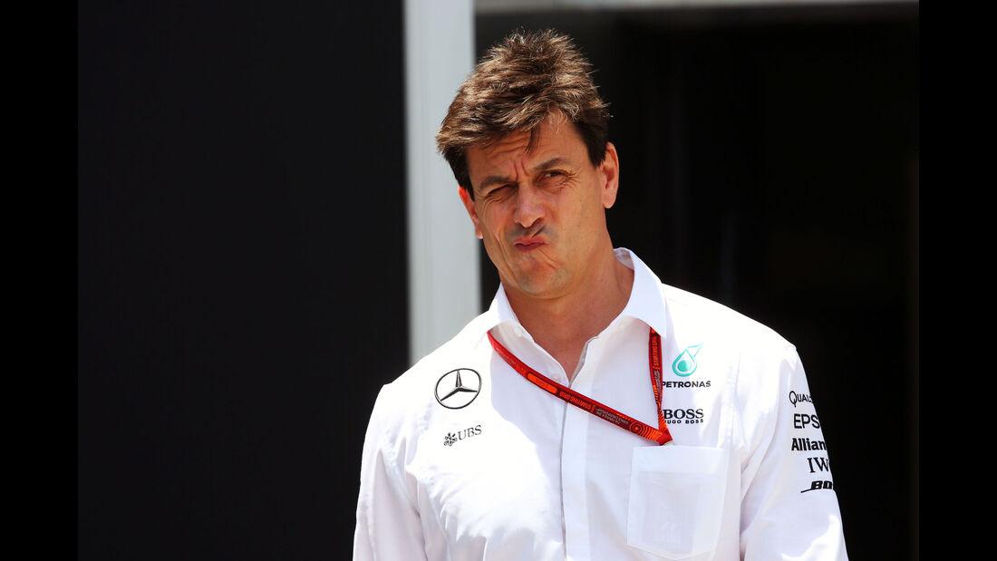Toto Wolff - Mercedes - Formel 1 - GP Malaysia - Freitag - 30.9.2016