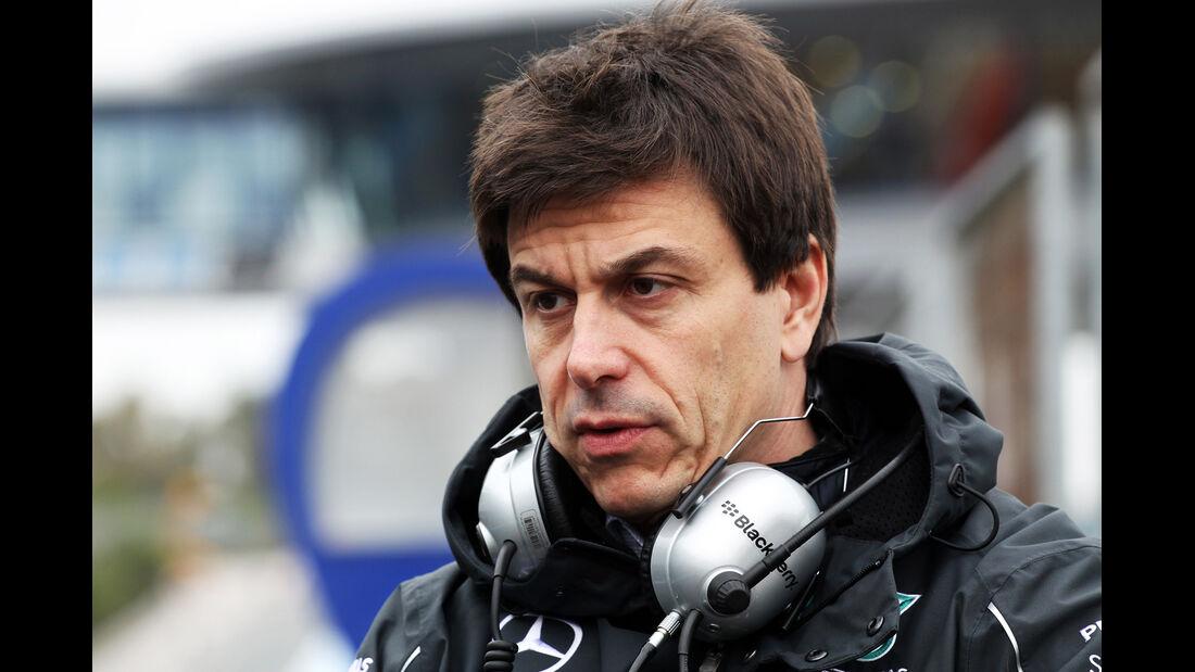 Toto Wolff - Mercedes - Formel 1 - Jerez - Test - 30. Januar 2014