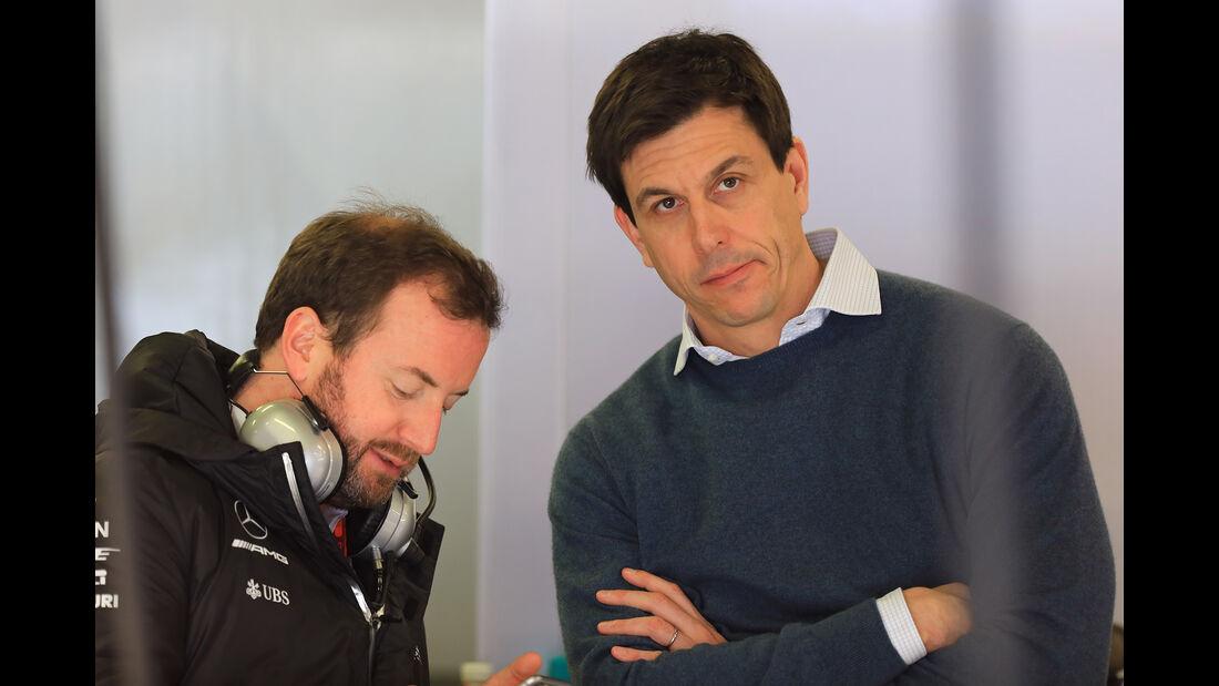Toto Wolff - Mercedes - Formel 1 - Test - Barcelona - 8. März 2017