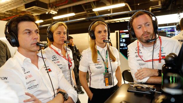Toto Wolff - Mercedes - GP Abu Dhabi 2019 - Rennen