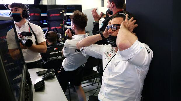 Toto Wolff - Mercedes - GP Aserbaidschan 2021 - Baku - Rennen