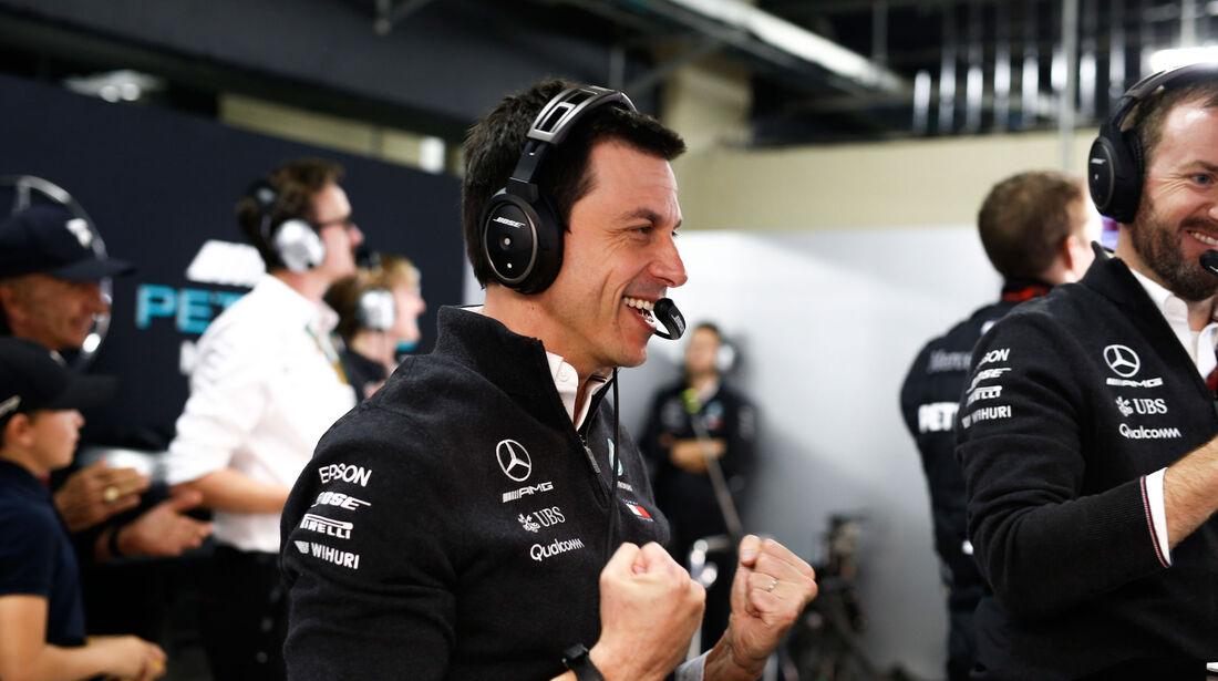 Toto Wolff - Mercedes - GP Brasilien - Interlagos - Formel 1 - Samstag - 10.11.2018