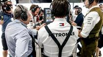 Toto Wolff - Mercedes - GP Deutschland 2019 - Hockenheim - Qualifying