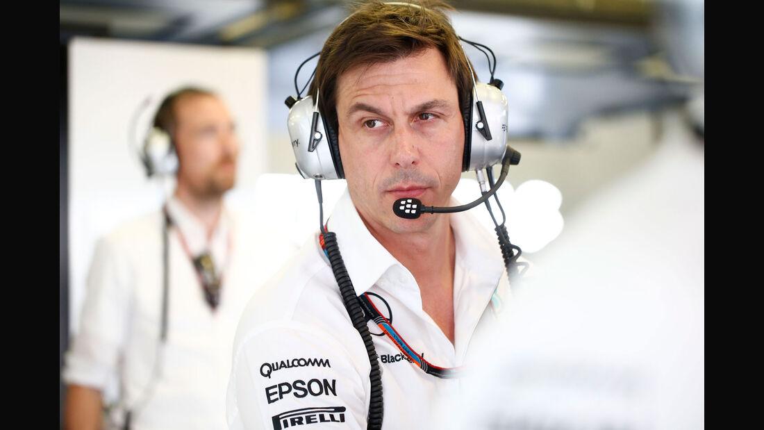 Toto Wolff - Mercedes - GP Ungarn - Budapest - Qualifying - Samstag - 25.7.2015