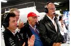 Toto Wolff, Niki Lauda & Dieter Zetsche - Mercedes - Formel 1 - GP Spanien - Barcelona - 12. Mai 2018