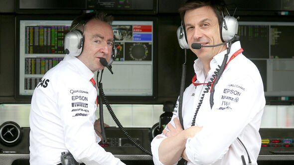 Toto Wolff & Paddy Lowe - F1 2016