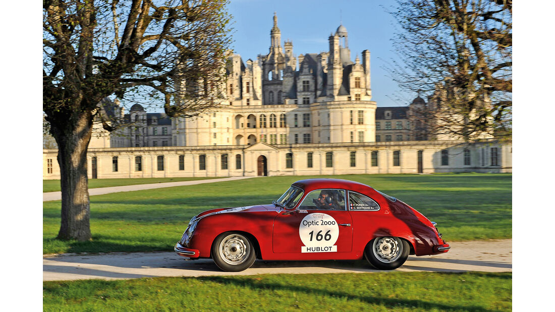Tour Auto, Porsche 356, Frederic Puren, Château de Chambord