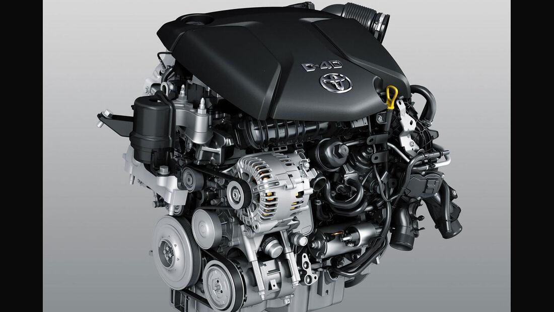 Toyota 1,6 Liter Turbodiesel 1.6 D-4D Motor