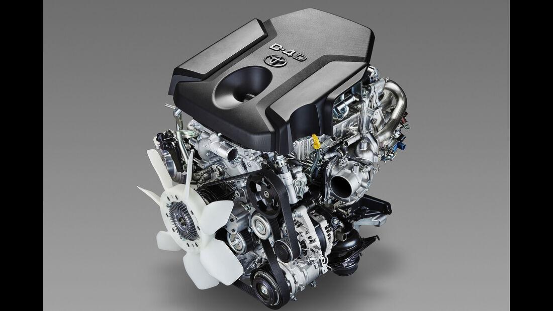 Toyota 1-GD Global Diesel Motor 2.8 Liter