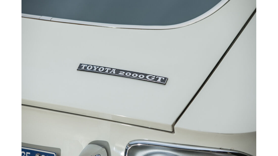 Toyota 2000GT, Typenbezeichnung