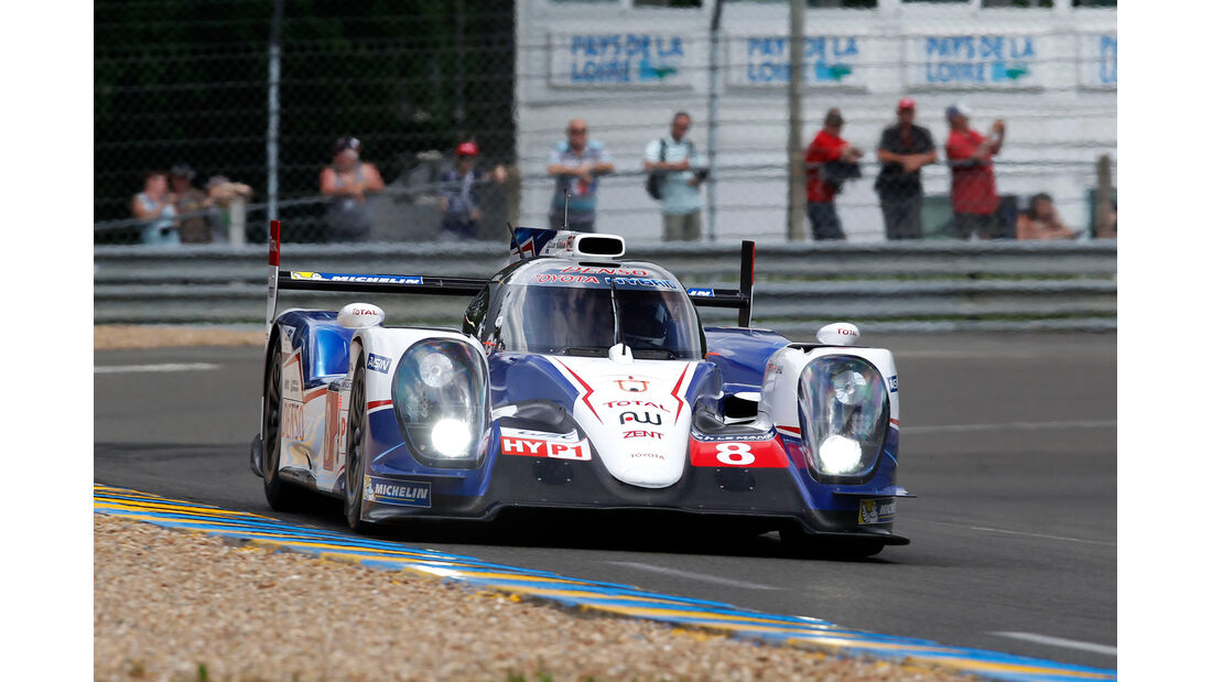Toyota - 24h Le Mans - 11. Juni 2014