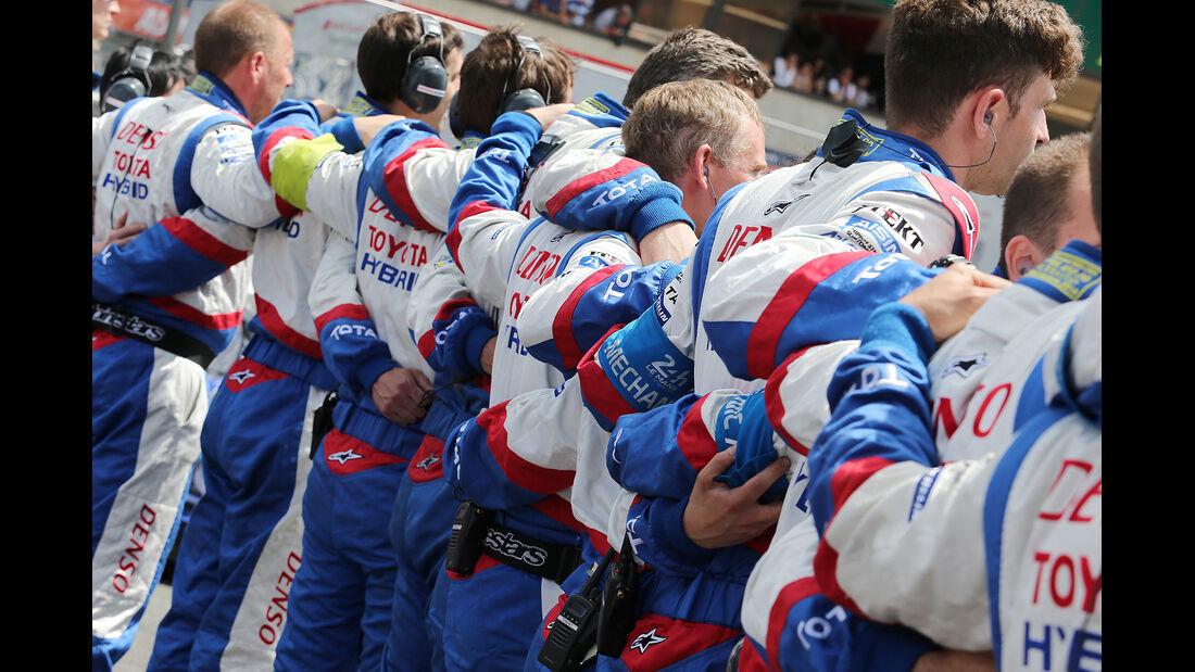 Toyota - 24h-Rennen - Le Mans 2014 - Motorsport
