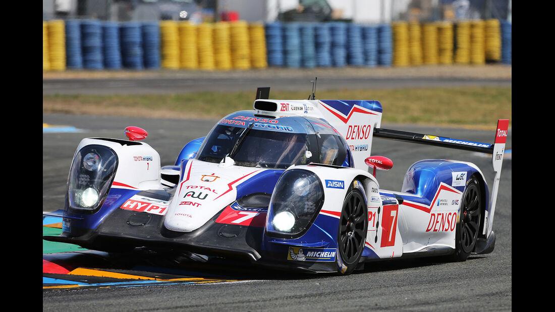 Toyota - 24h-Rennen - Le Mans 2014 - Motorsport - TS040 Hybrid