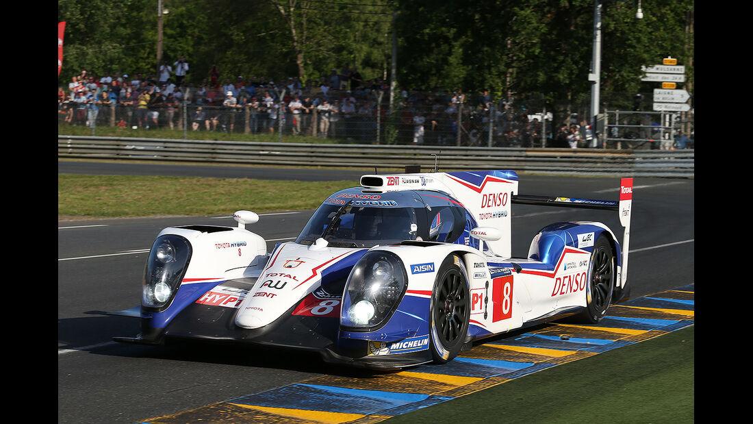 Toyota, 24h-Rennen, Le Mans 2014, Qualifikation 3, Davidson, Lapierre, Buemi
