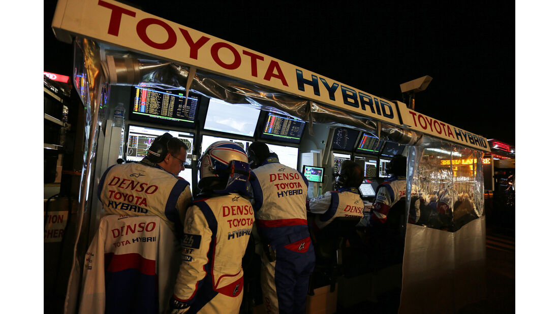 Toyota - 24h-Rennen Le Mans 2015 - Donnerstag - 12.6.2015