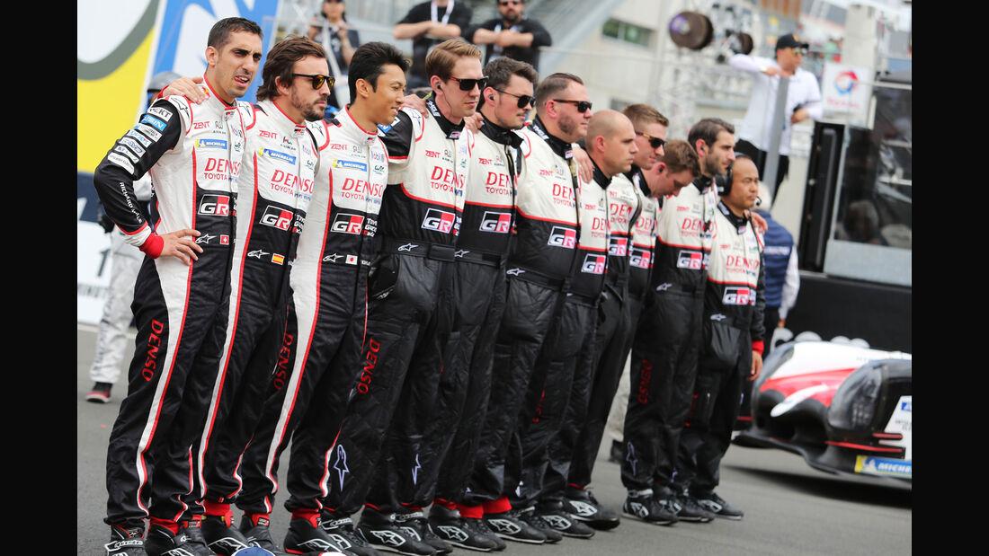 Toyota - 24h-Rennen Le Mans 2018 - Samstag - 16.6.2018