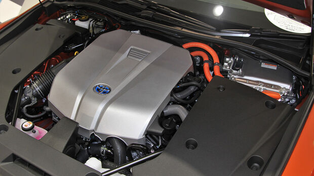 Toyota 8GR-FXS V6 Hybrid Motor