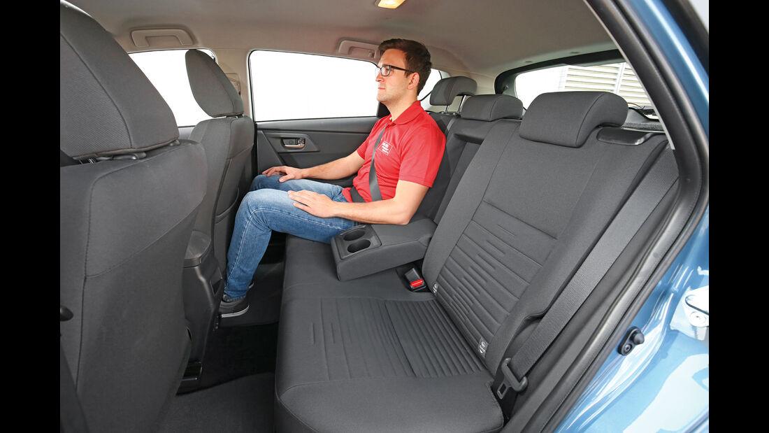 Toyota Auris 1.2T, Fondsitz