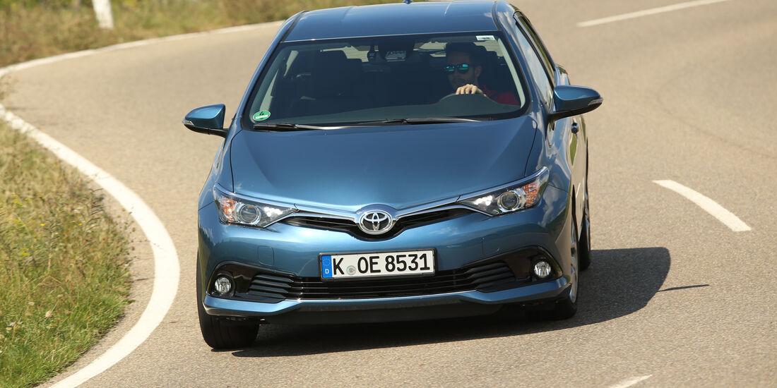 Toyota Auris 1.2T, Frontansicht