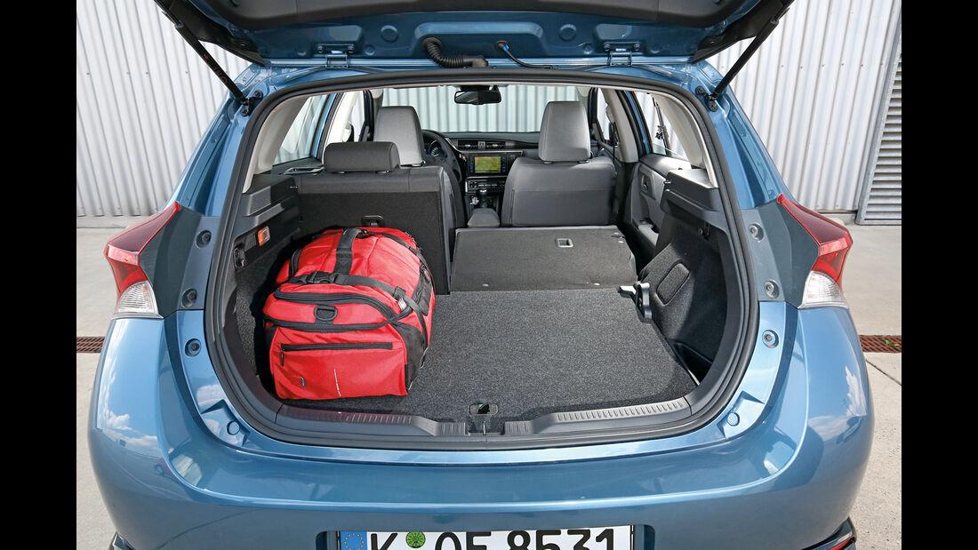 Toyota Auris 1.2T, Kofferraum