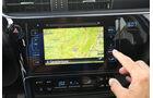 Toyota Auris 1.2T, Navi, Bildschirm