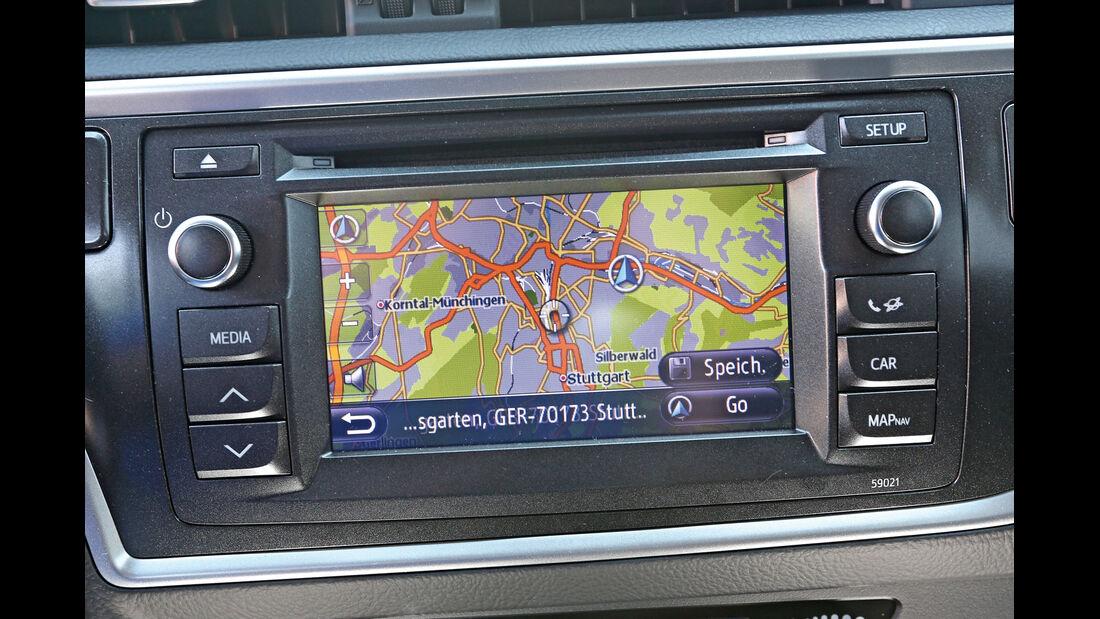 Toyota Auris 2.0 D-4D, Navi, Bildschirm