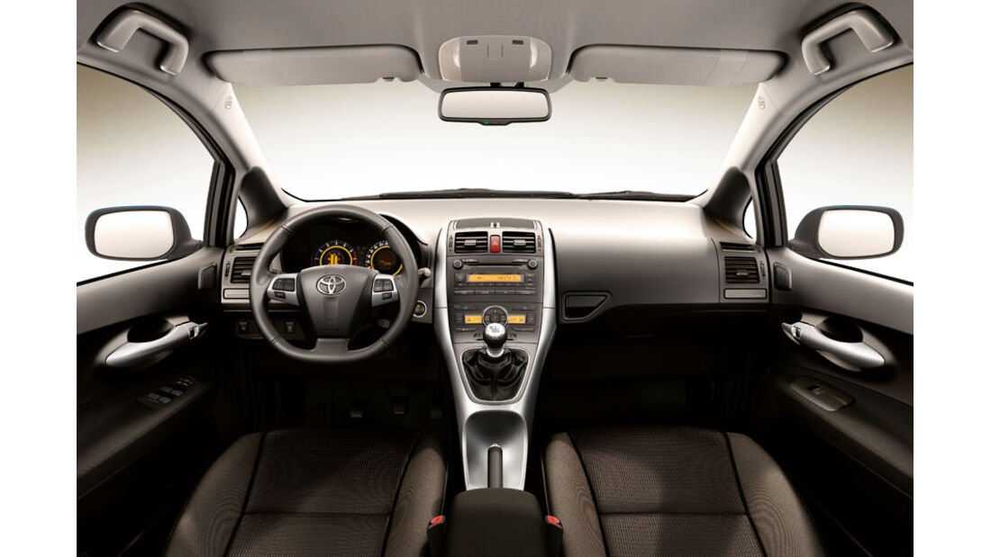Toyota Auris, Cockpit, Executive-Ausstattung