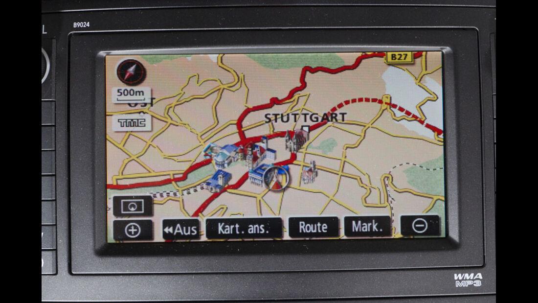 Toyota Auris, DVD-Navigationssystem