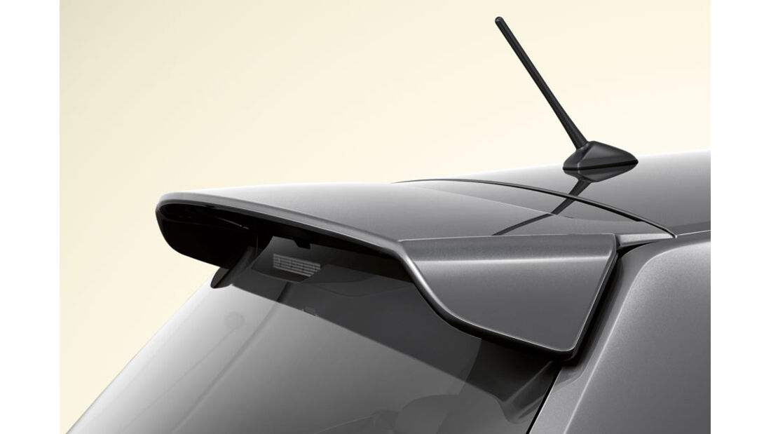 Toyota Auris, Dachspoiler