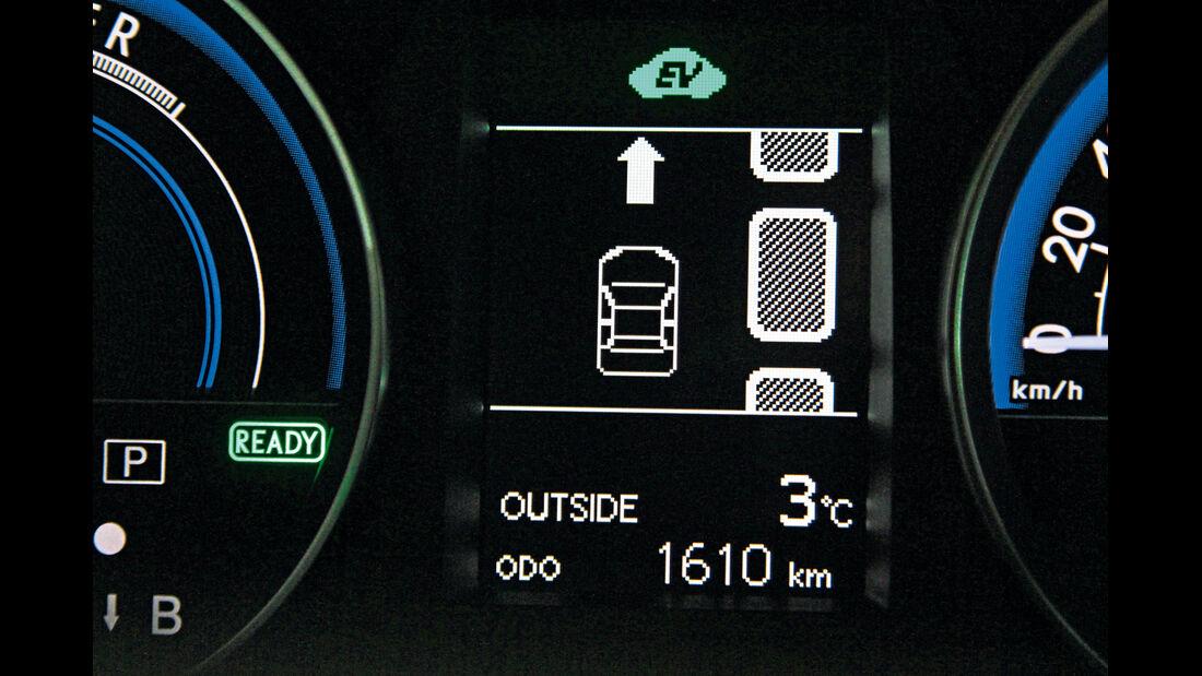 Toyota Auris, Einparktest