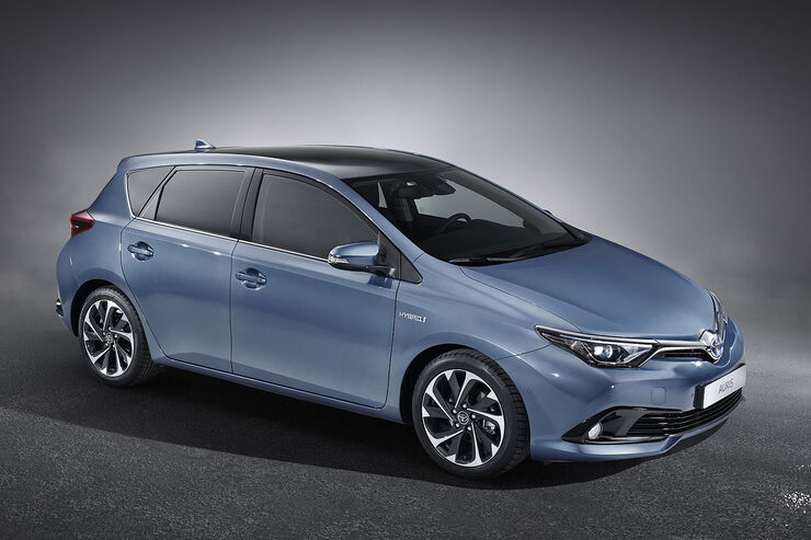 Toyota Auris Facelift 2015