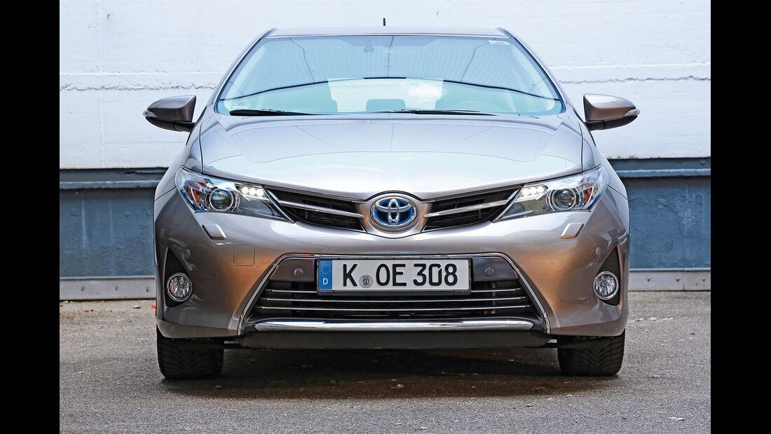 Toyota Auris, Frontansicht