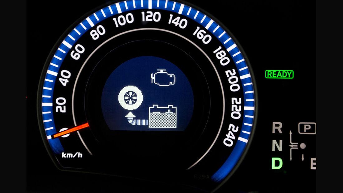 Toyota Auris HSD Cockpit