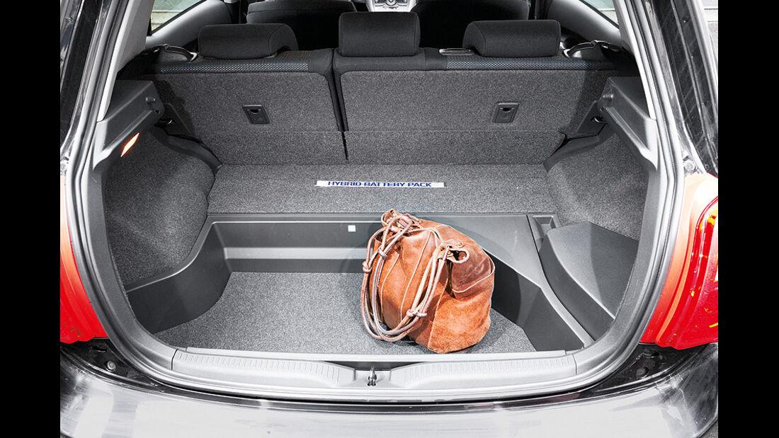 Toyota Auris HSD Kofferraum