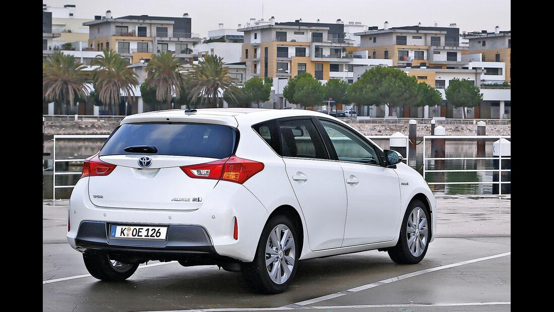 Toyota Auris, Heckansicht