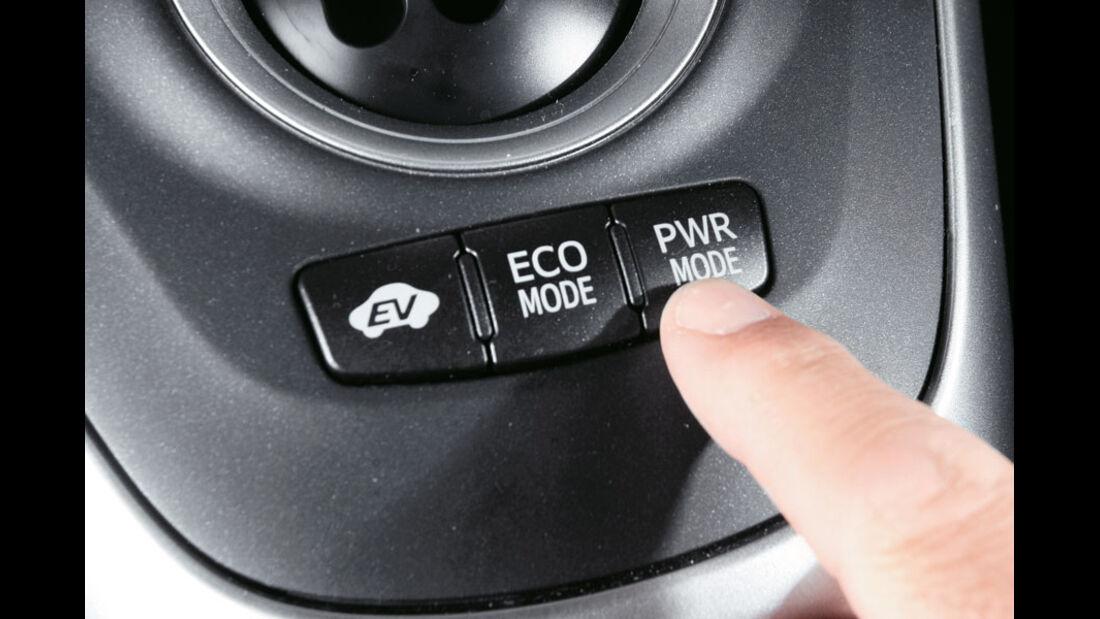 Toyota Auris Hybrid, Fahrprogramme