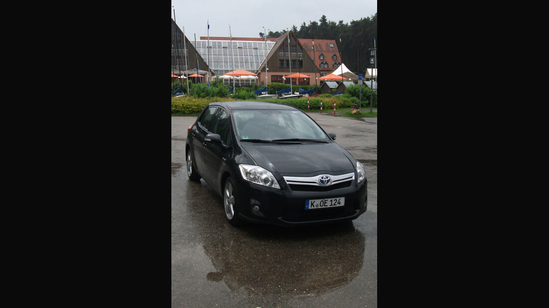 Toyota Auris Hybrid, Frontansicht
