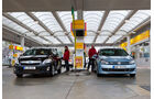 Toyota Auris Hybrid, Frontansicht, Tankstelle