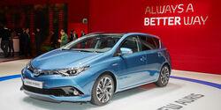 Toyota Auris Hybrid - Genfer Autosalon 2015