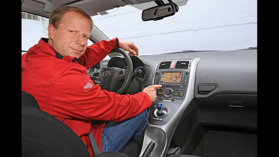Toyota Auris Hybrid, Michael von Maydell