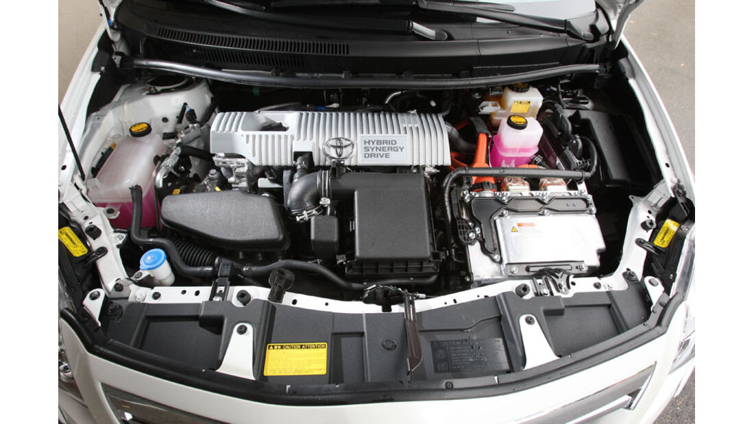 Toyota Auris Hybrid, Motor