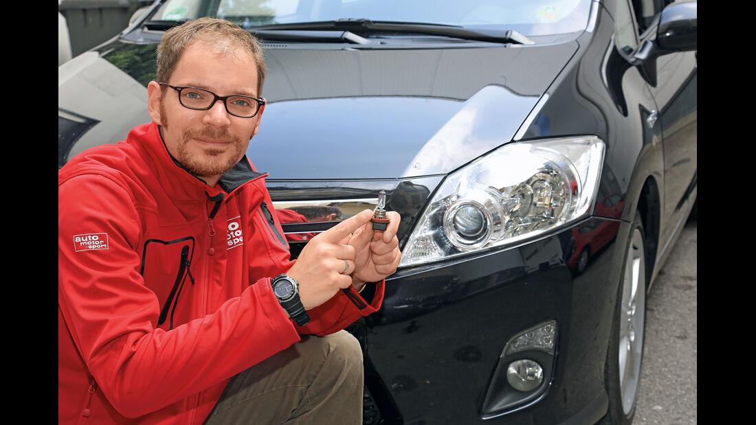 Toyota Auris Hybrid, Sebastian Renz