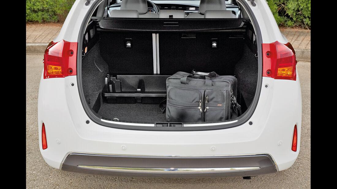 Toyota Auris Touring Sports, Kofferraum