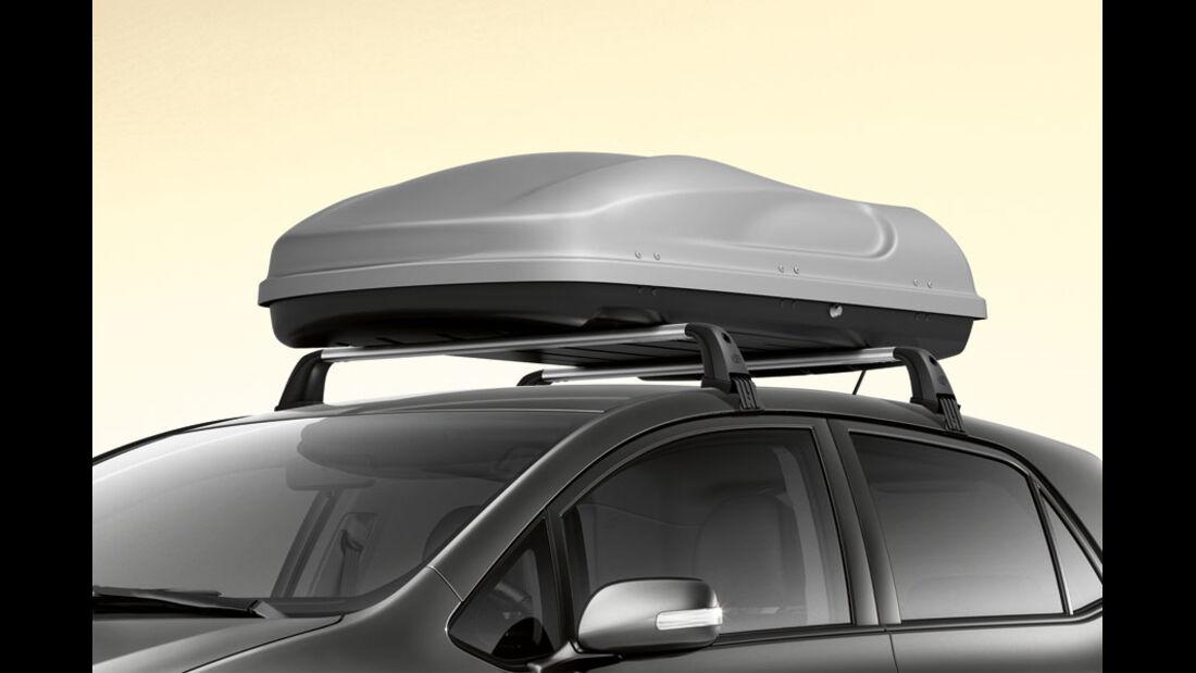 Toyota Auris, Transportbox